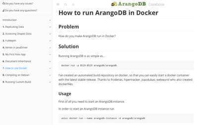 ArangoDB Cookbook
