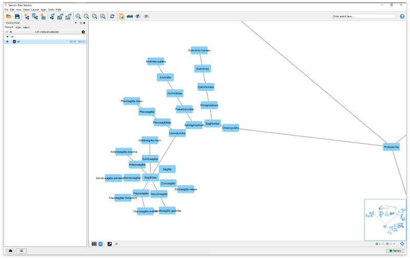 ArangoDB graph to Cytoscape