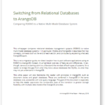 White Paper Switching from Relational Databases to ArangoDB