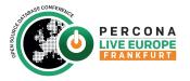percona live europe frankfurt