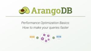 arangodb performance course slide 1 landing page