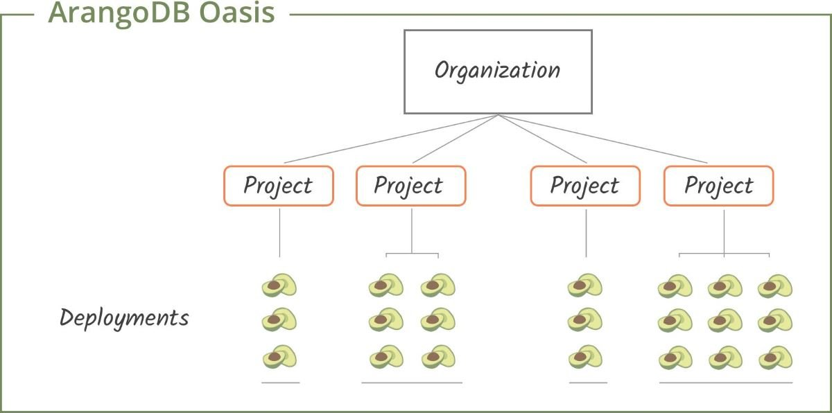 ArangoDB Oasis Structure
