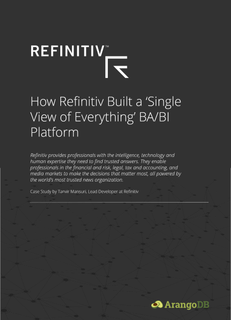 Refinitiv and ArangoDB case study