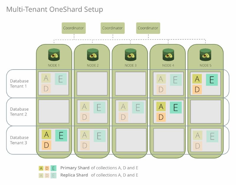 ArangoDB 3.6 Enterprise OneShard Multi-Tenant