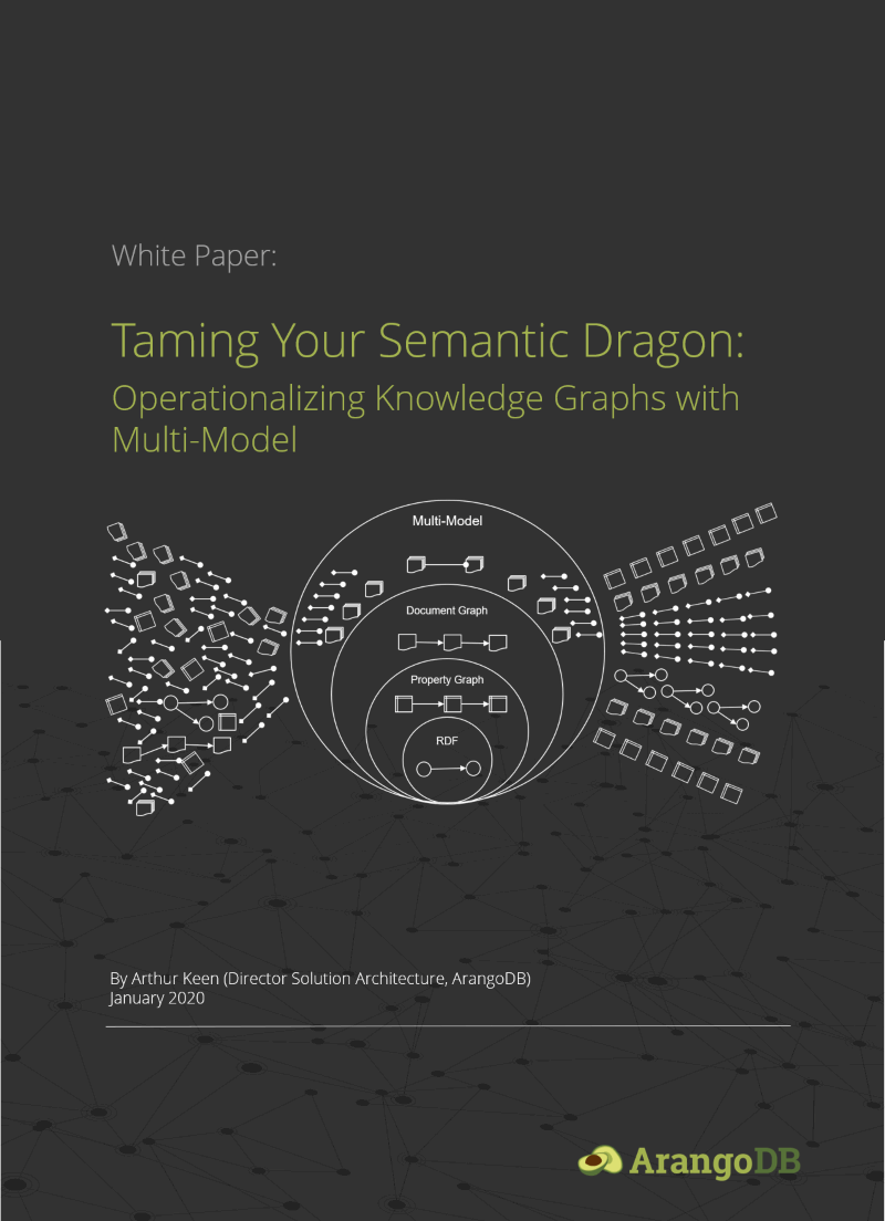 Knowledge Graph White Paper Cover
