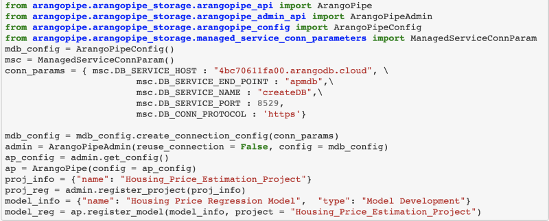 ArangoML Pipeline Cloud – Manage Machine Learning Metadata