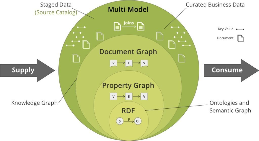 Multi-model knowledge graph schema