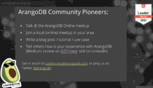 community pioneer